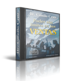 Poder Sin Limites en las Ventas – Camilo Cruz [AudioLibro 3CDs]